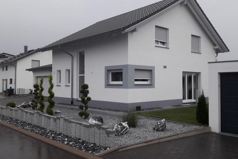 Gestaltung der Außenanlage